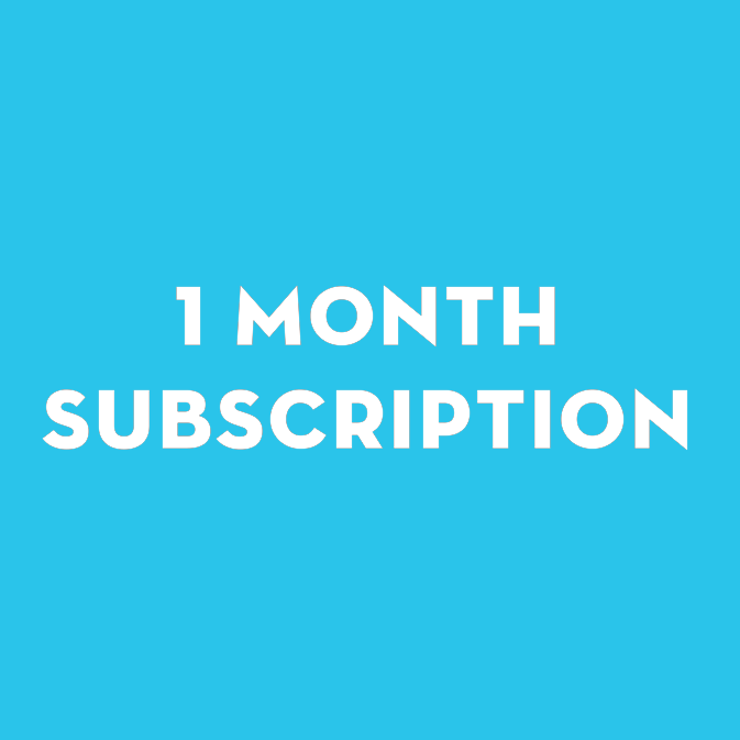 1 Month Subscription | Comedy Writer's Room